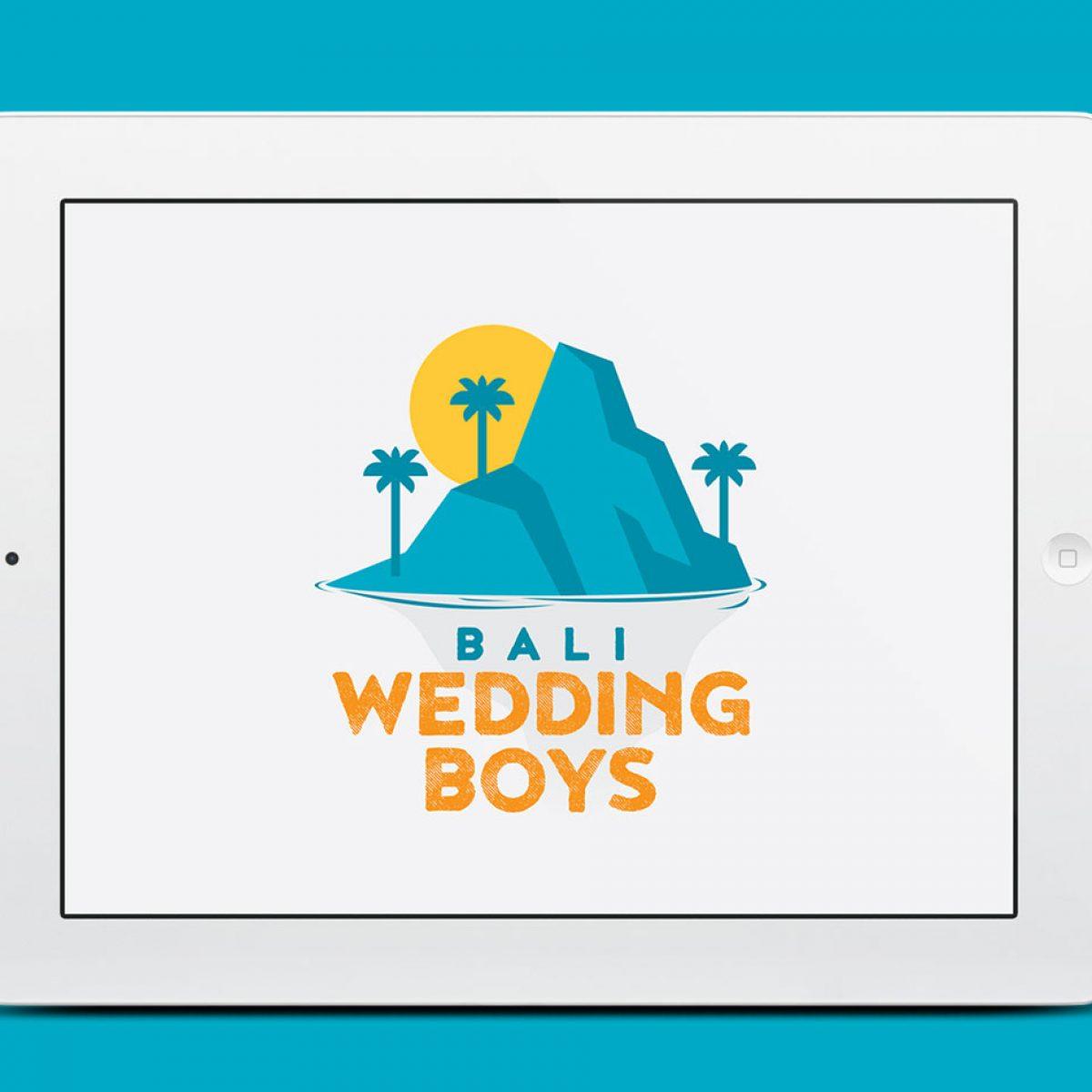 Bali Wedding Boys Logo Design