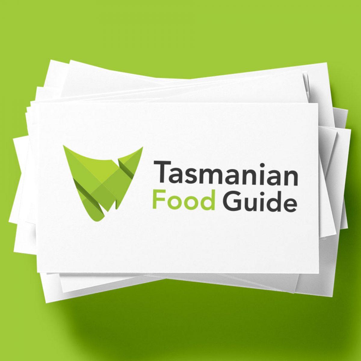 Tasmanian Food Guide Logo Design